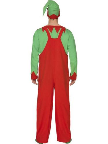Workshop Elf Fancy Dress Costume Thumbnail 2