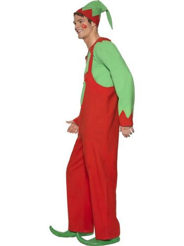 Workshop Elf Fancy Dress Costume Thumbnail 3