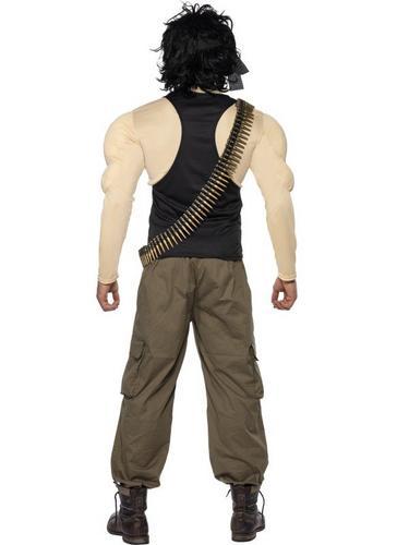 Rambo Fancy Dress Costume Thumbnail 2