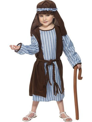 Boys Shepherd Fancy Dress Costume Thumbnail 2