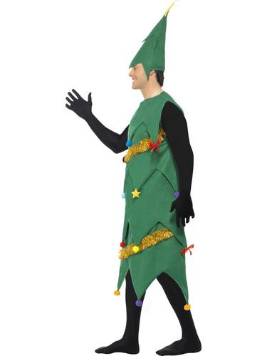 Deluxe Christmas Tree Fancy Dress Costume Thumbnail 2