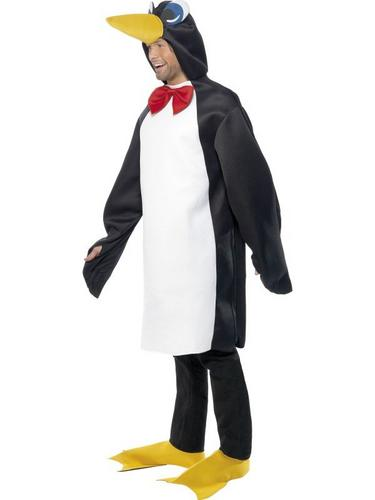 Adult Penguin Fancy Dress Costume Thumbnail 2