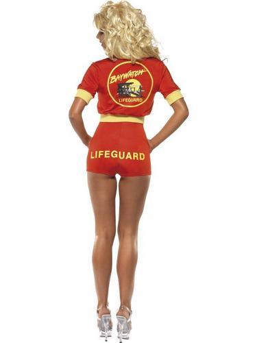 Baywatch Lifeguard Fancy Dress Costume Thumbnail 3