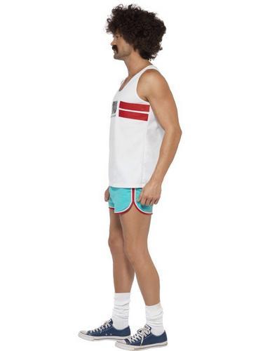118118 Male Runner Fancy Dress Costume Thumbnail 3