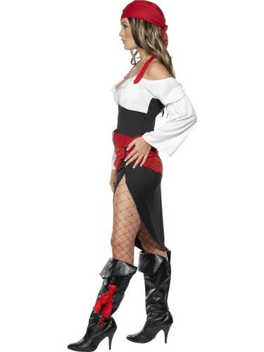 Sassy Pirate Wench Fancy Dress Costume Thumbnail 3