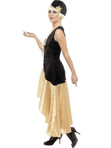 1920s Gatsby Girl Fancy Dress Costume Thumbnail 3