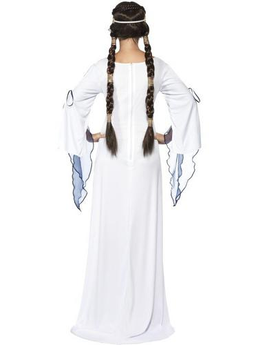 Medieval Maid Fancy Dress Costume Medium Thumbnail 2