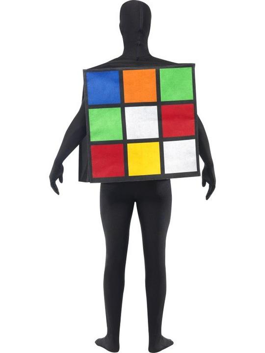 Rubiks Cube Unisex Fancy Dress Costume Thumbnail 3