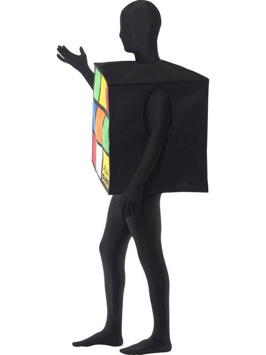 Rubiks Cube Unisex Fancy Dress Costume Thumbnail 2