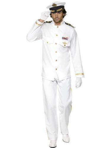 Deluxe Captain Fancy Dress Costume Thumbnail 2
