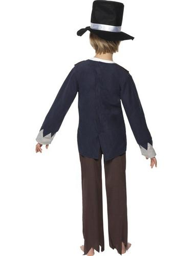 Victorian Poor Boy Fancy Dress Costume Thumbnail 2