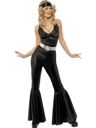 70s Diva Catsuit Fancy Dress Costume Thumbnail 1