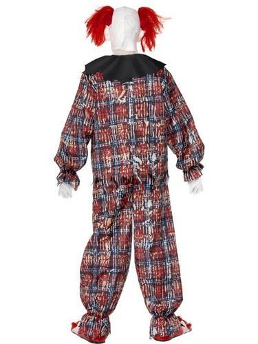Scary Clown Fancy Dress Costume Thumbnail 2