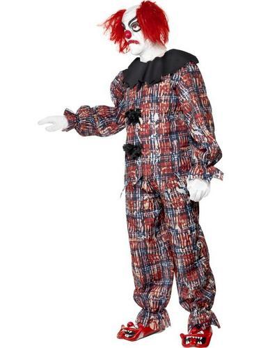 Scary Clown Fancy Dress Costume Thumbnail 3