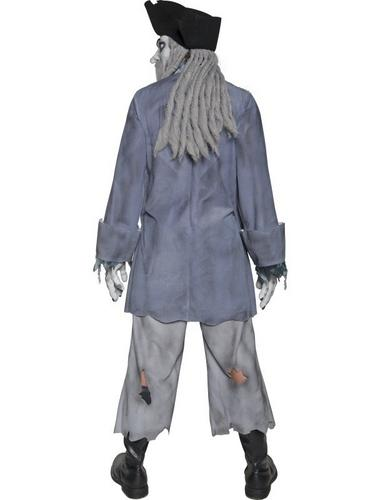 Zombie Ghost Pirate Fancy Dress Costume Thumbnail 2