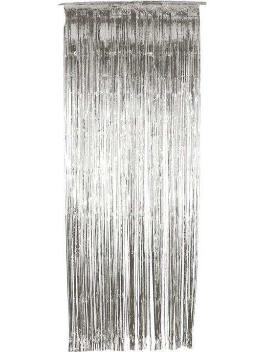 Shimmer Curtain Silver Thumbnail 1