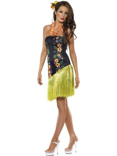 Luscious Luau Fancy Dress Costume Thumbnail 1