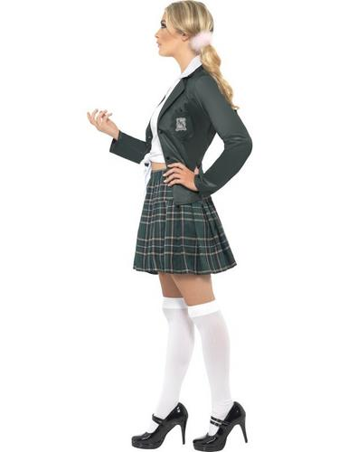 Preppy Schoolgirl Fancy Dress Costume Thumbnail 3