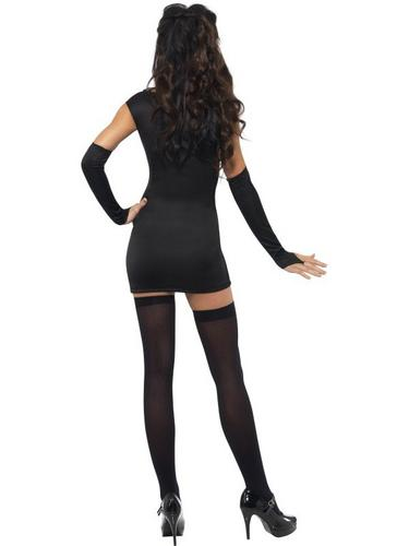 Sexy Skeleton Fancy Dress Costume Thumbnail 3