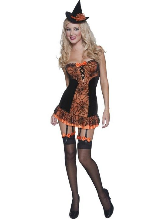 Pin Up Witch Costume Thumbnail 1