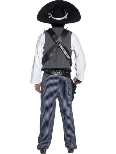 Mexican Bandit Fancy Dress Costume Thumbnail 2