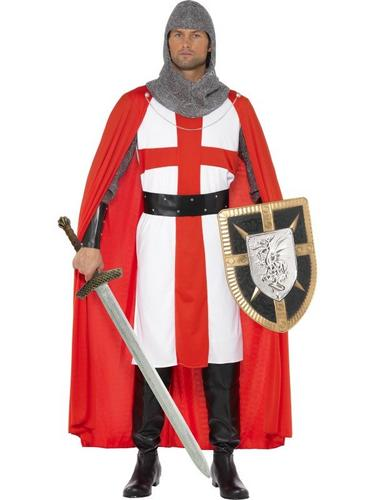 ST George Hero Fancy Dress Costume Thumbnail 1