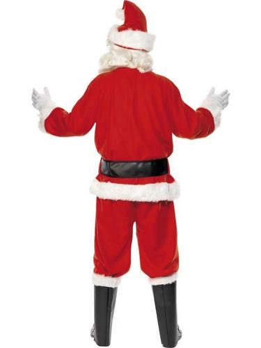 Deluxe Santa Suit Fancy Dress Costume Thumbnail 2