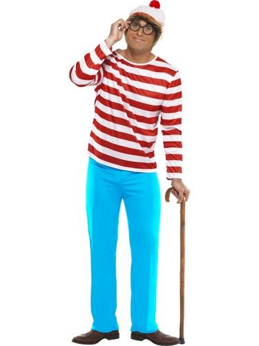 Wheres Wally Fancy Dress Costume Thumbnail 1