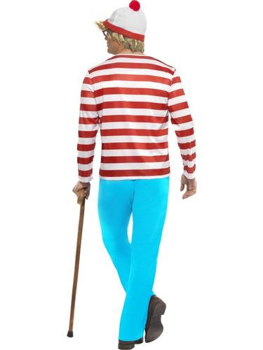 Wheres Wally Fancy Dress Costume Thumbnail 2