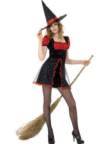 Star Witch Fancy Dress Costume Thumbnail 1