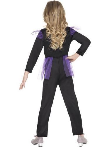 Girls Skellie Punk Fancy Dress Costume Thumbnail 3