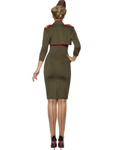 Army Girl Fancy Dress Costume Thumbnail 2