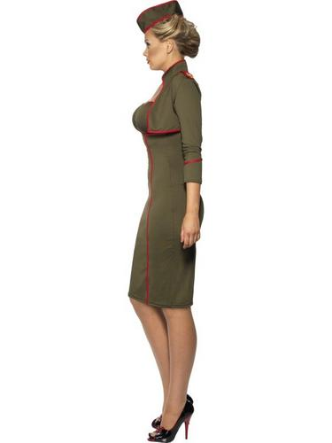 Army Girl Fancy Dress Costume Thumbnail 3