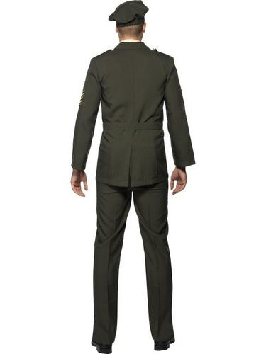 Male Wartime Officer Fancy Dress Costume Thumbnail 2
