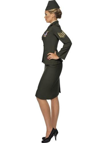 Wartime Officer Fancy Dress Costume Thumbnail 3