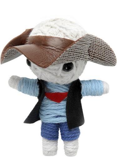 Voodoo String Doll Charm, Cowboy Thumbnail 1