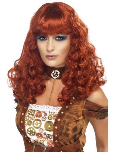 Steam Punk Female Fancy Dress Wig Thumbnail 1