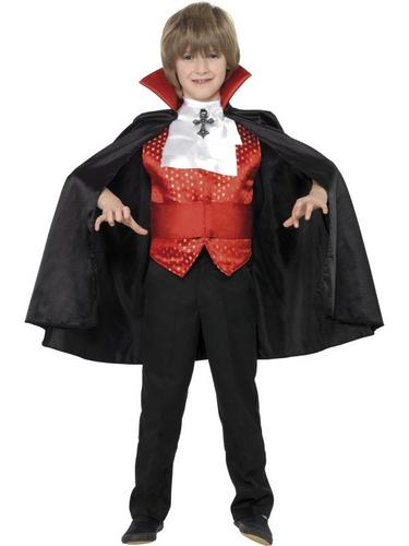Dracula Boy Fancy Dress Costume Thumbnail 1