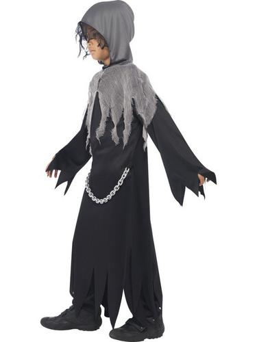 Grim Reaper Fancy Dress Costume Kids Thumbnail 3