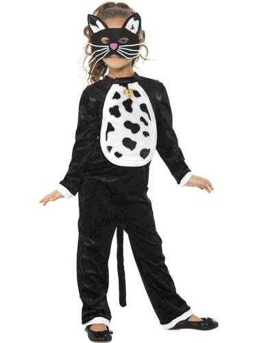 Girls Cat Fancy Dress Costume Thumbnail 1