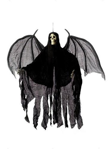 Hanging Skeleton with Robe and Wings Thumbnail 1