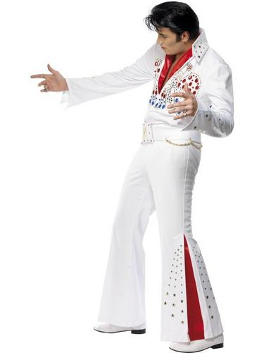 Elvis American Eagle Fancy Dress Costume Thumbnail 3