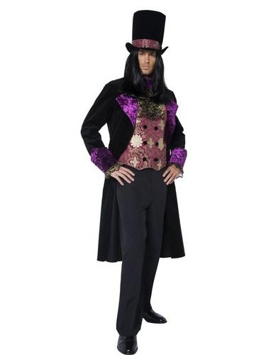 Gothic Count Fancy Dress Costume Thumbnail 2