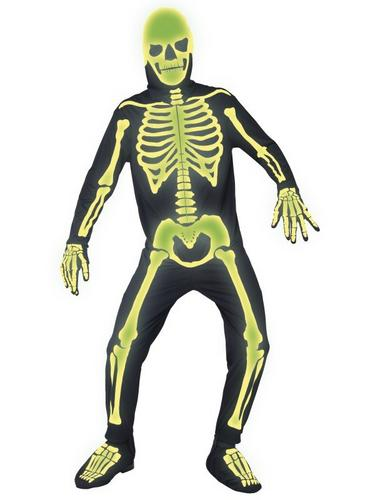 Graveyard Bones Fancy Dress Costume Thumbnail 1