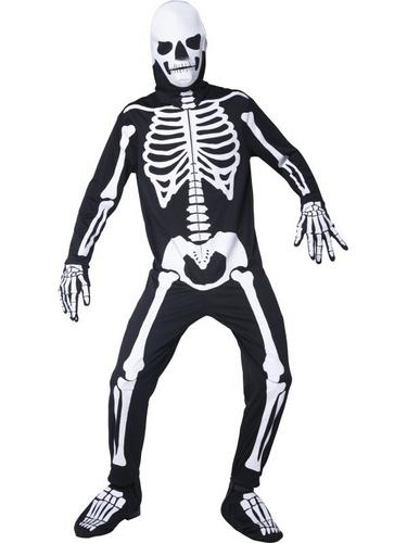 Graveyard Bones Fancy Dress Costume Thumbnail 2