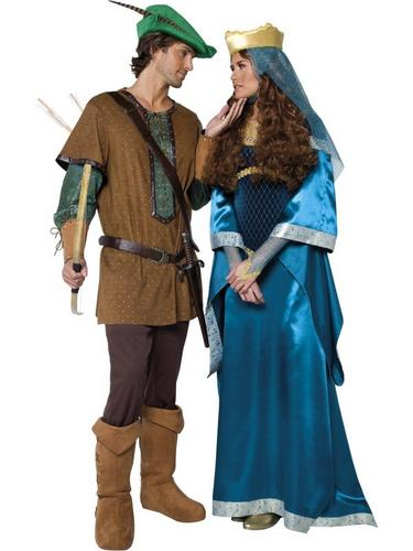 Deluxe Maid Marion Fancy Dress Costume Thumbnail 3