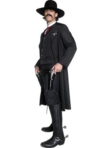 Western Sheriff Fancy Dress Costume Thumbnail 3