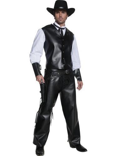 Westen Gunslinger Fancy Dress Costume Thumbnail 1