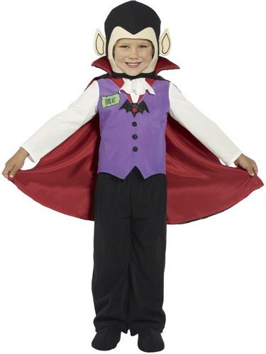 Toddler Vampire Fancy Dress Costume Thumbnail 1