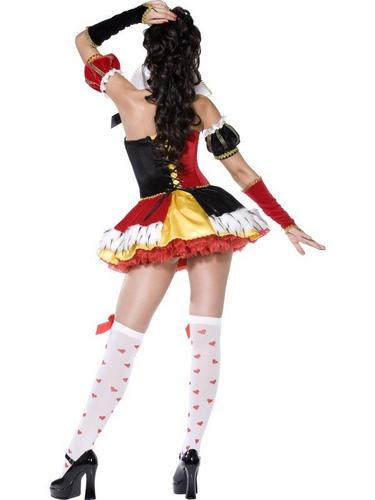 Queen of Hearts Fancy Dress Costume Thumbnail 3